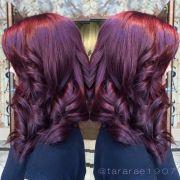 purple hair whitney #spaatlantis