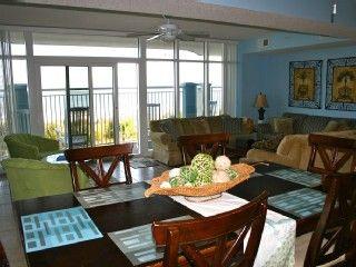 5 Bedroom 4 Bath Oceanfront Condovilla W Huge Balcony Media Room Ocean Blue Luxury Edia Roomssouth Carolinacondosbalconiesvacation