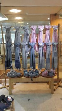 25+ best ideas about Scarf display on Pinterest | Display ...