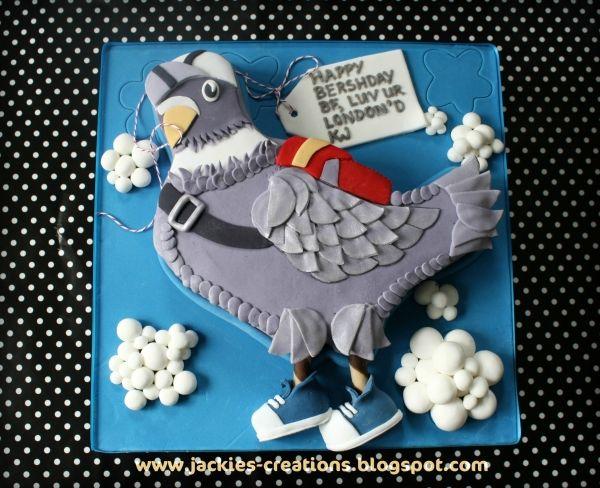 Pigeon Birthday Cake Stuff To Try Pinterest Happy
