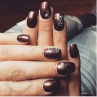1000+ ideas about Brown Nail Designs on Pinterest | Brown ...