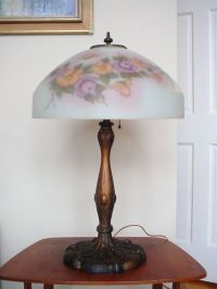 217 best images about Reverse painted Glass Lamps on ...