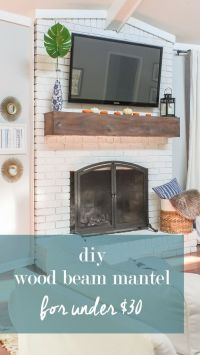 25+ best ideas about Brick Fireplace Makeover on Pinterest