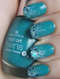 1000+ ideas about Teal Nail Designs on Pinterest | Fish ...