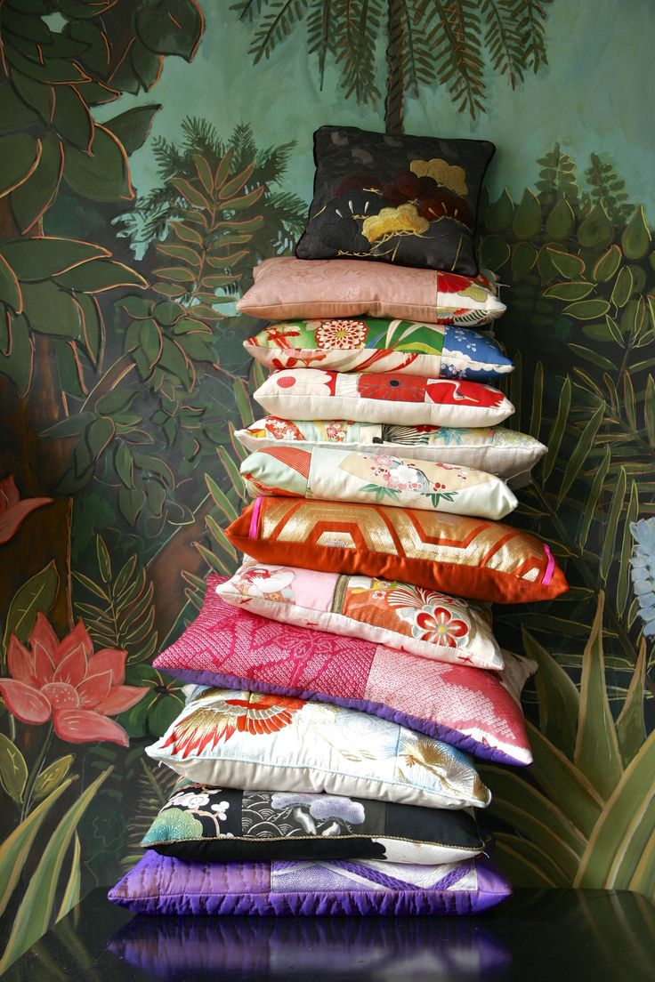 Big pile of my cushions Colllection Carolina Breuer and