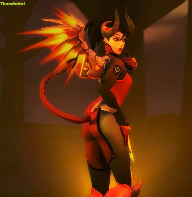 Devil Mercy Overwatch Girls Game Too Pinterest Devil