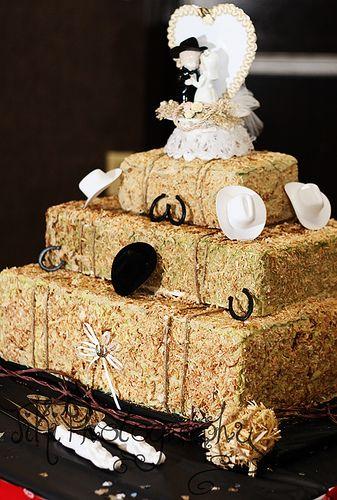 Country Theme Wedding Cake The Cake Looks Like Blocks Of