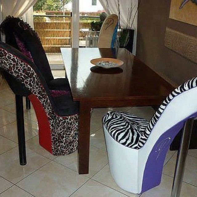 Stiletto Shoe Chair