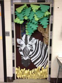 Jungle+Theme+Classroom+Door | Love the 3D...Classroom Door ...