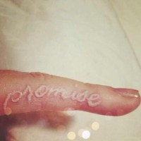 10+ best ideas about Pinky Promise Tattoo on Pinterest