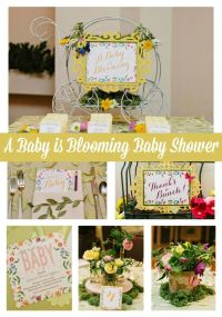 Top 25 ideas about Spring Baby Showers on Pinterest   Girl ...