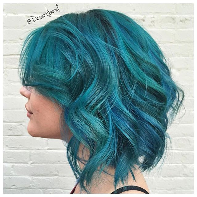 25 Best Ideas about Blue Mermaid  Hair  on Pinterest