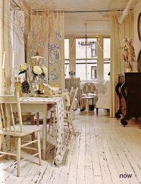 TriBeCa loft of Liz Dougherty Pierce. Shabby chic loft ...
