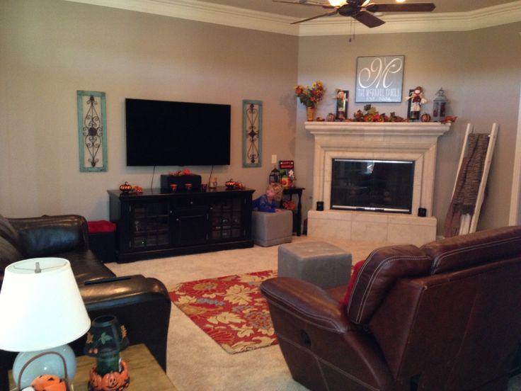 Family Room Color Is Sherwin Williams Tony Taupe New