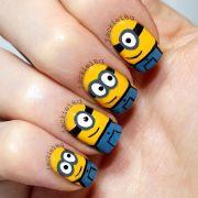 minions manicure
