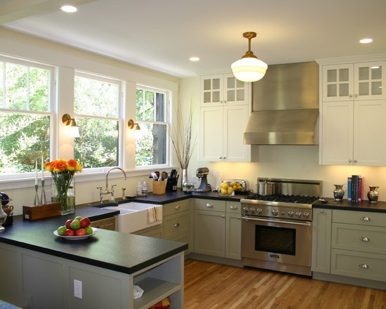 85 Best Images About Kitchen No Upper Cabinets On