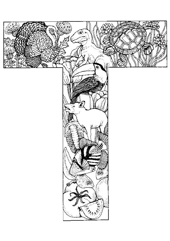 Coloriage Alphabet Elfes K Sur Hugolescargot Com