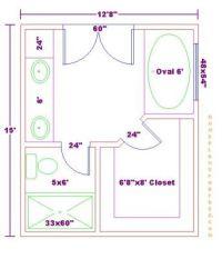 Free Master Bath Floor Plan with 12x15 DimensionsMaster ...
