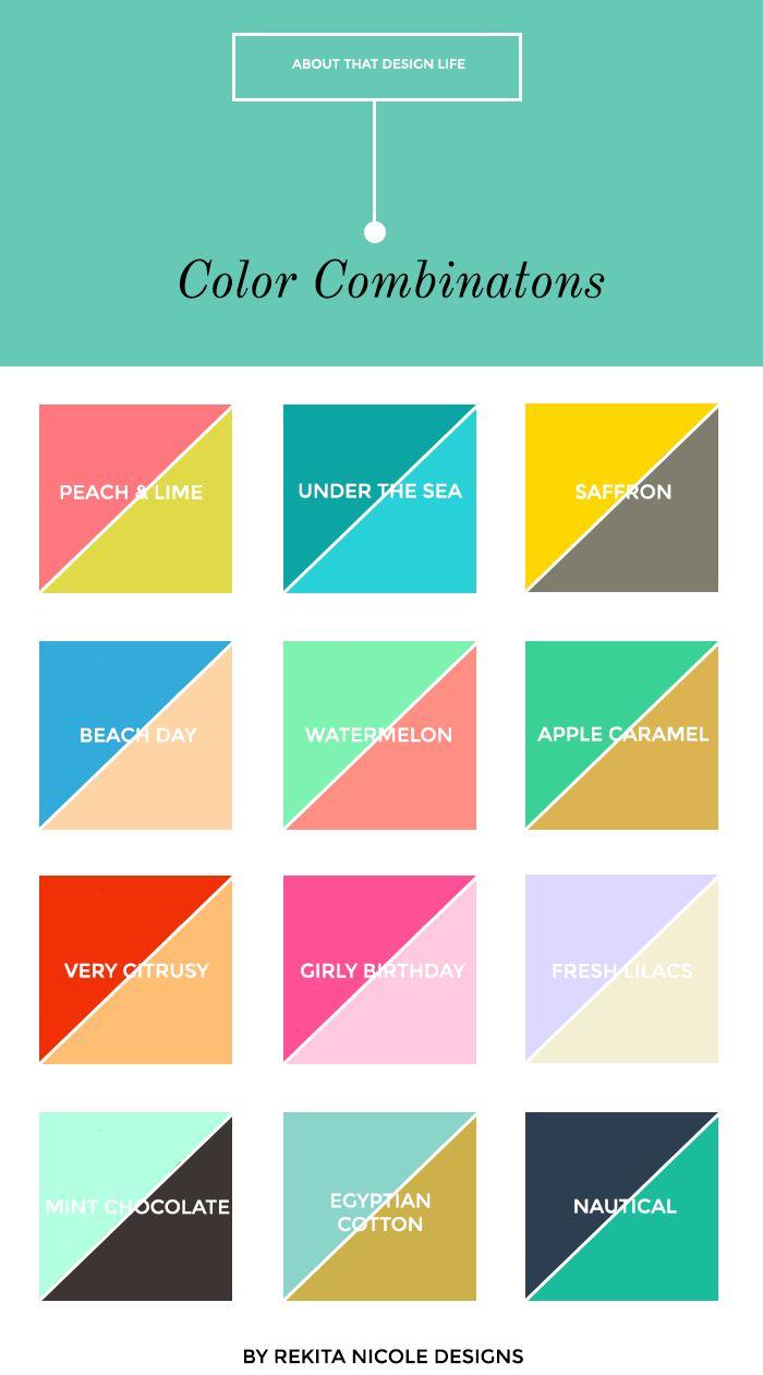 Best 25+ Color Combinations Ideas On Pinterest  Colour