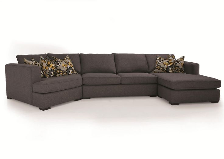 DecorRest 2900 3Piece Contemporary Sectional with LHF