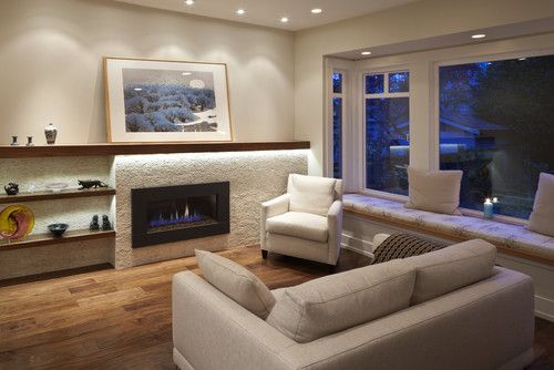 17 Best ideas about Fireplace Seating on Pinterest
