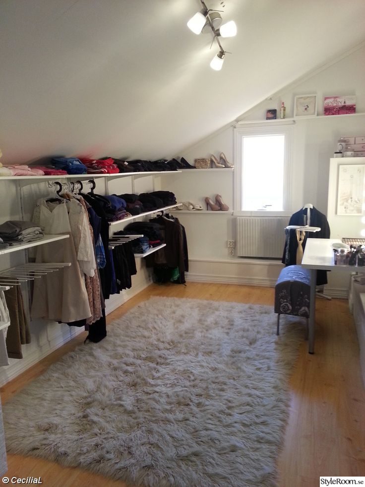 Another Clever Low Height Closet Algot From Ikea