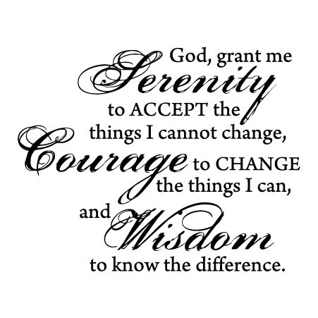 1000+ ideas about Serenity Prayer Tattoo on Pinterest