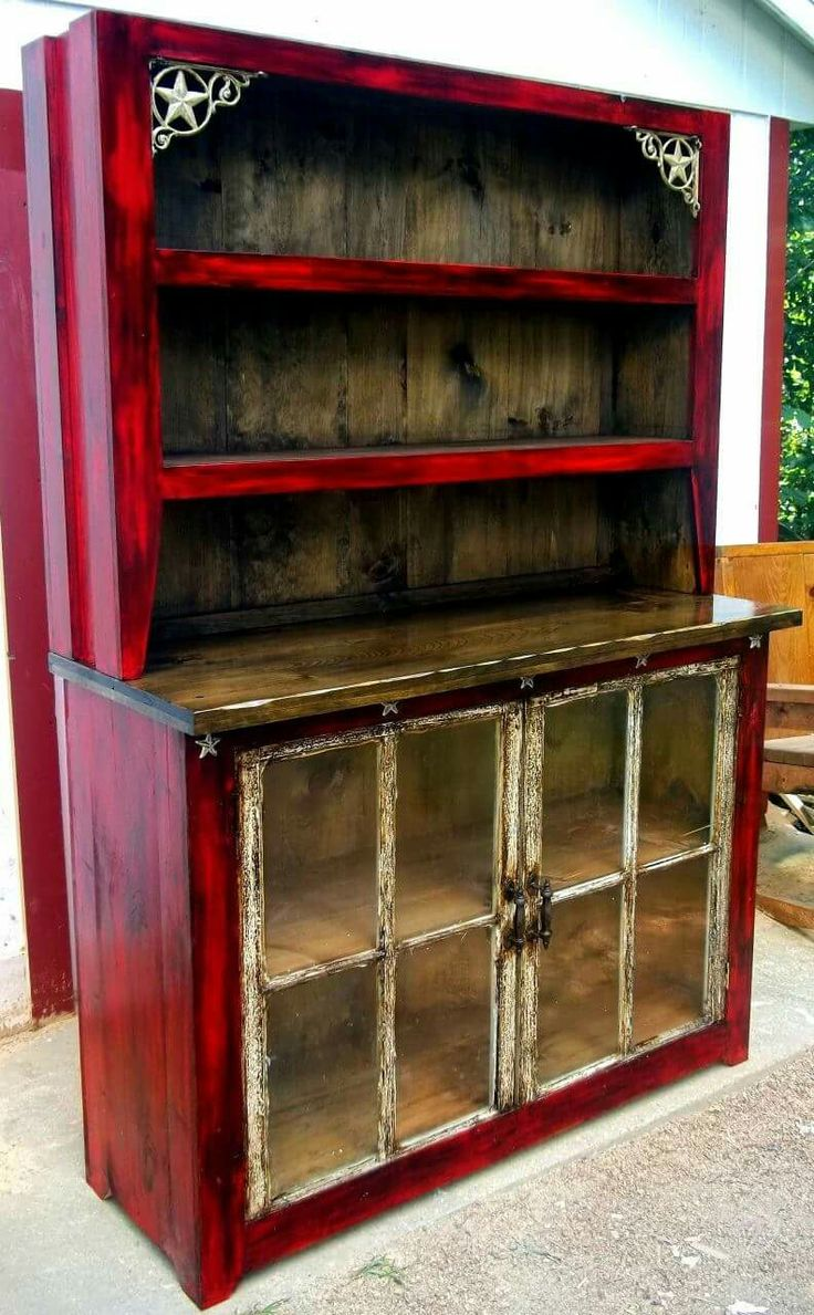 Best 25 Rustic hutch ideas on Pinterest  Painted hutch