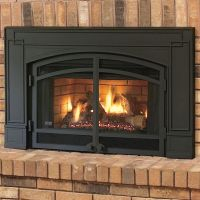 Continental CBI360 Gas Fireplace Natural Vent Insert w ...