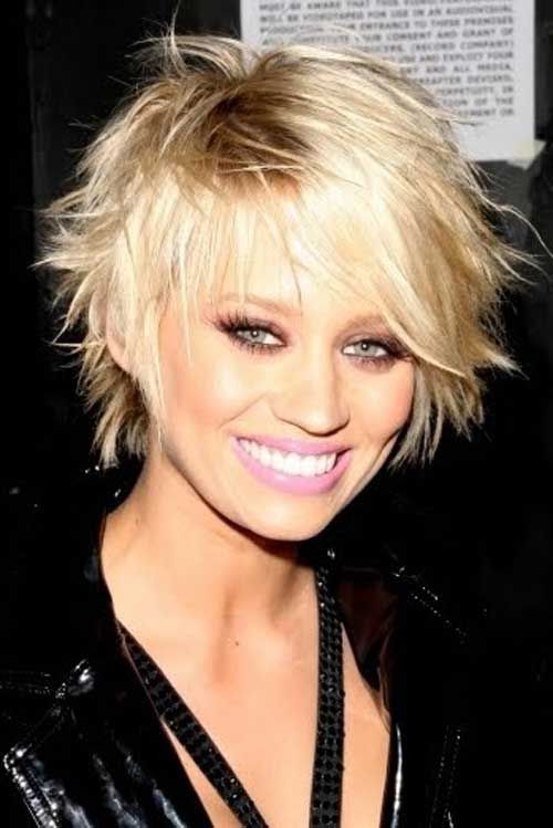 25 Best Ideas About Celebrity Short Hairstyles On Pinterest