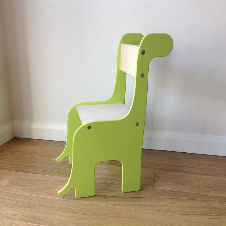 ab rocker chair padded folding chairs with arms brontosaurus dinosaur handmade wooden children's – piggl | pinterest products ...