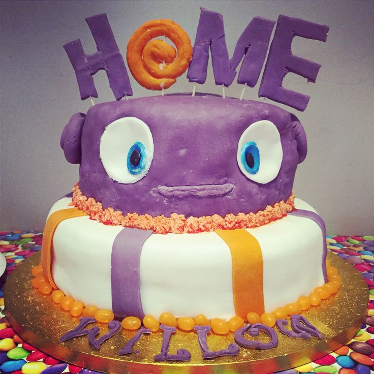 29 Best Images About HOME Movie Theme Cookies Cakes Ideas On