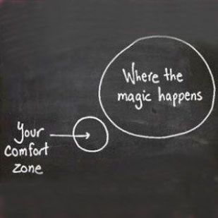 Image result for comfort zone quote