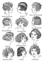1920 hairstyles women 1920s