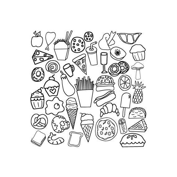 Royalty Free Cartoon Stock Cuisine Designs