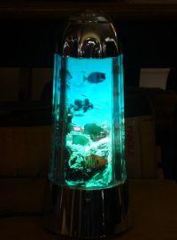 Sea Life Aquarium Lava Lamp Light Night Lite with Swimming ...