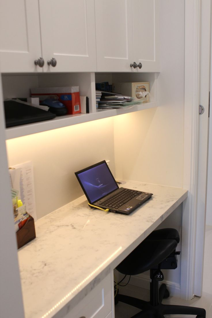 Mums Study Nook Built in to integrate with laundry area