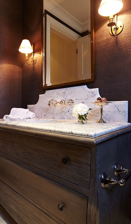 24 best images about vanity backsplash on Pinterest  Wall mount Wallpapers and Marble top