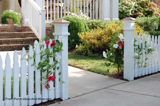 Picket Fence Ideas For Instant Curb Appeal Gardens Classy And
