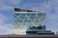 Modern Commercial Building Facades Modern striped facade ...