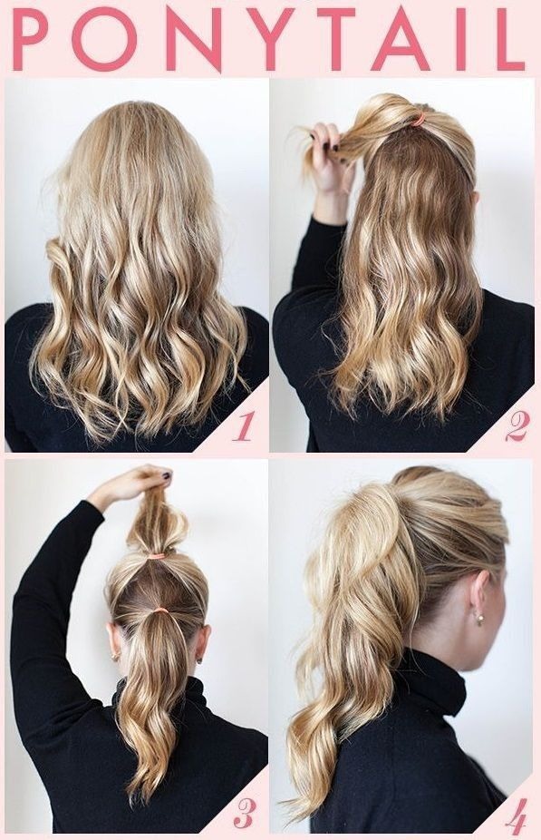 25 Best Ideas About 5 Minute Hairstyles On Pinterest Beach Hair