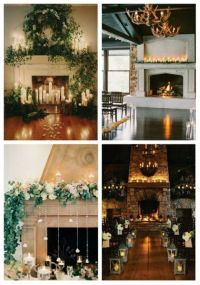 25+ best ideas about Wedding fireplace decorations on
