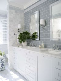 17 Best ideas about Subway Tile Bathrooms on Pinterest