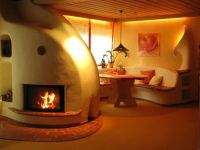 Earthship Fireplace | Earthship house design that I could ...