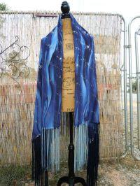 """Mysterious Universe""Native American Style Shawl,Regalia ..."