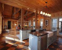 Rustic Open Floor House Plans | Rustic Open Kitchen Floor ...
