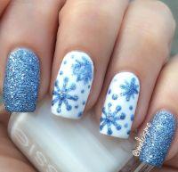 Winter nail designs, Winter nails and Nail design on Pinterest