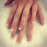 Natural nails painted French :) | Pretty Things ...