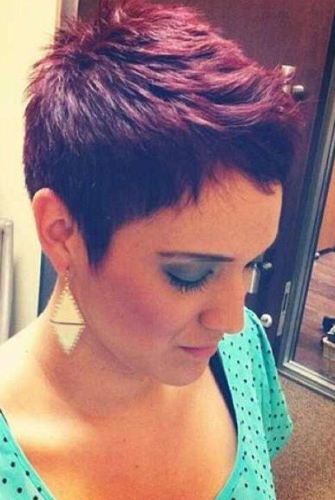 short  purple red hair  Google keres s hair  Pinterest