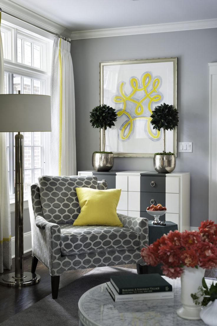 25 best ideas about Yellow accent chairs on Pinterest